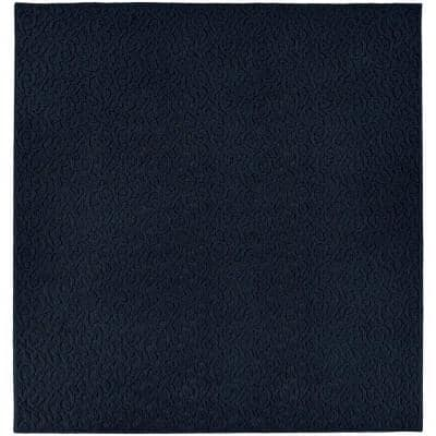 Ivy Navy 12 ft. x 12 ft. Square Area Rug