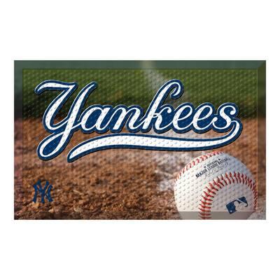 MLB - New York Yankees 19 in. x 30 in. Indoor/Outdoor Scraper Mat Door Mat