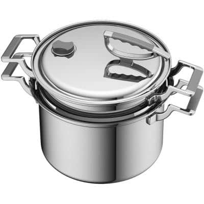 Original 8 qt. Stainless Steel Stock Pot with Lid