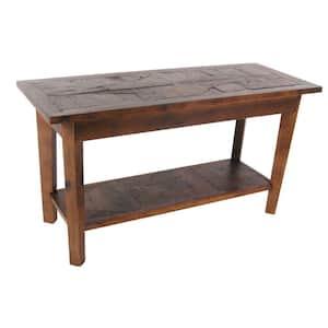 Alaterre Furniture Revive Natural Oak Storage Bench Deals