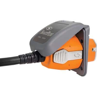 Combo Kit with Female Connector and Non-Metallic Inlet - 30 Amp, Gray