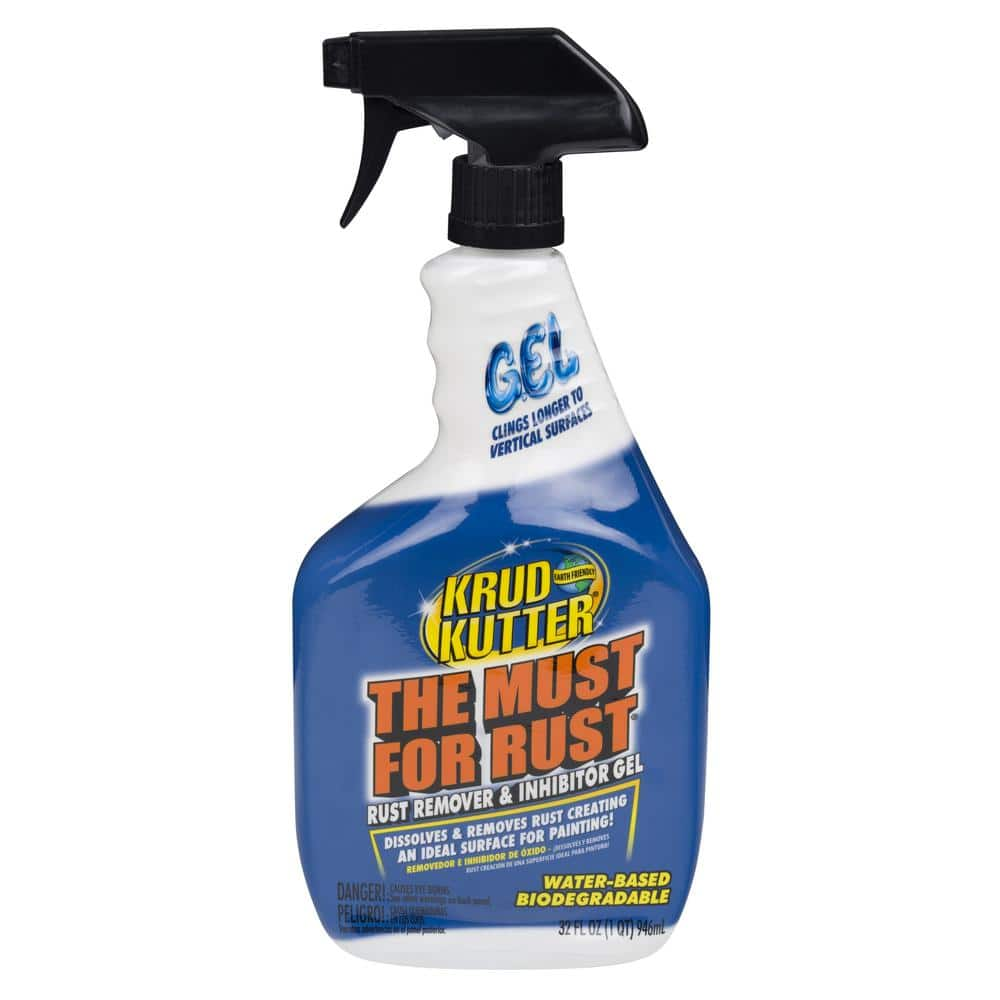 Krud Kutter 32 Oz Must For Rust Gel 305982 The Home Depot