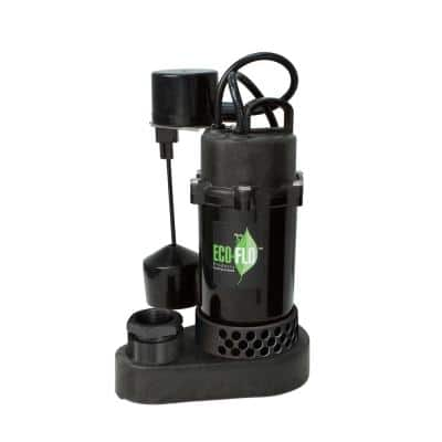 1/3 HP Submersible Sump Pump with Vertical Switch