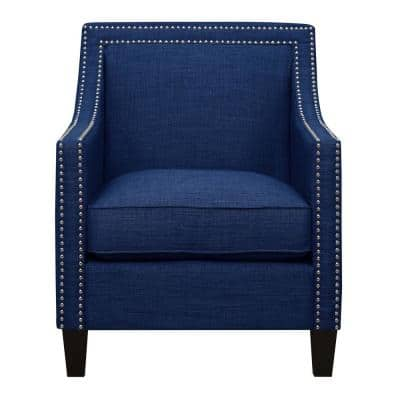 Emery Blue Arm Chair