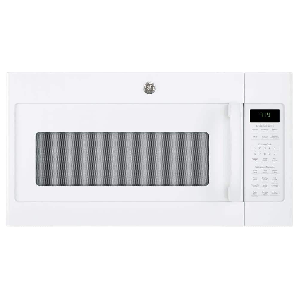 Ge 1 9 Cu Ft Over The Range Microwave