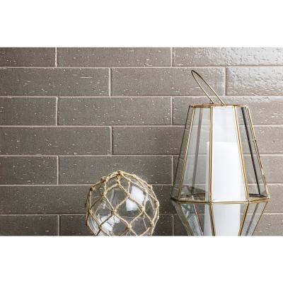 Rhythmic Pashmina 2 in. x 9 in. 12mm Glazed Clay Subway Tile (30-piece 4.63 sq. ft. / box)