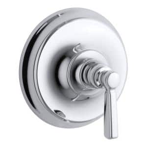 Bancroft 1-Handle Wall-Mount Tub and Shower Faucet Trim Kit in Polished Chrome(Valve not included)