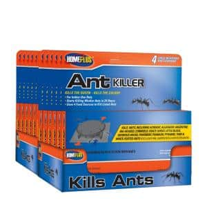 Home Plus by PIC Ant Plastic Traps with 4 Food Sources and Abamectin Case (Total: 48)