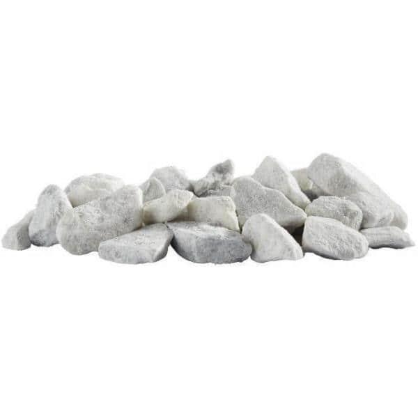 Vigoro 0 5 Cu Ft Bagged Marble Chips, White Garden Rocks Home Depot
