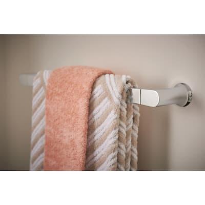 Genta 24 in. Towel Bar in Chrome