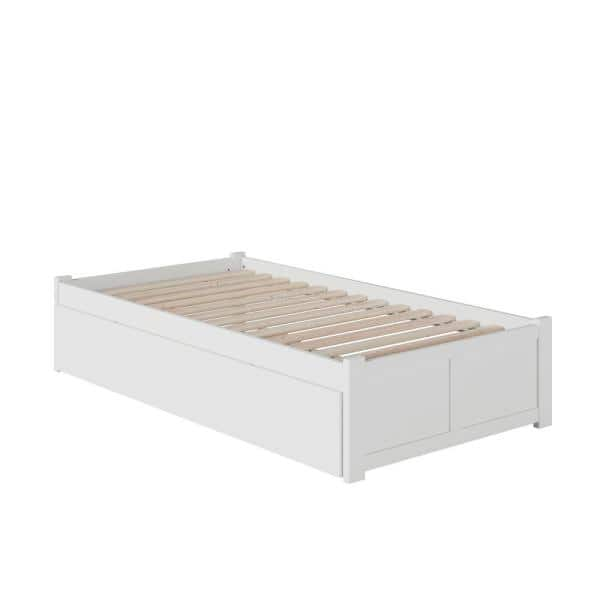 Atlantic Furniture Concord Twin Extra, How Long Is A Extra Twin Bed Frame