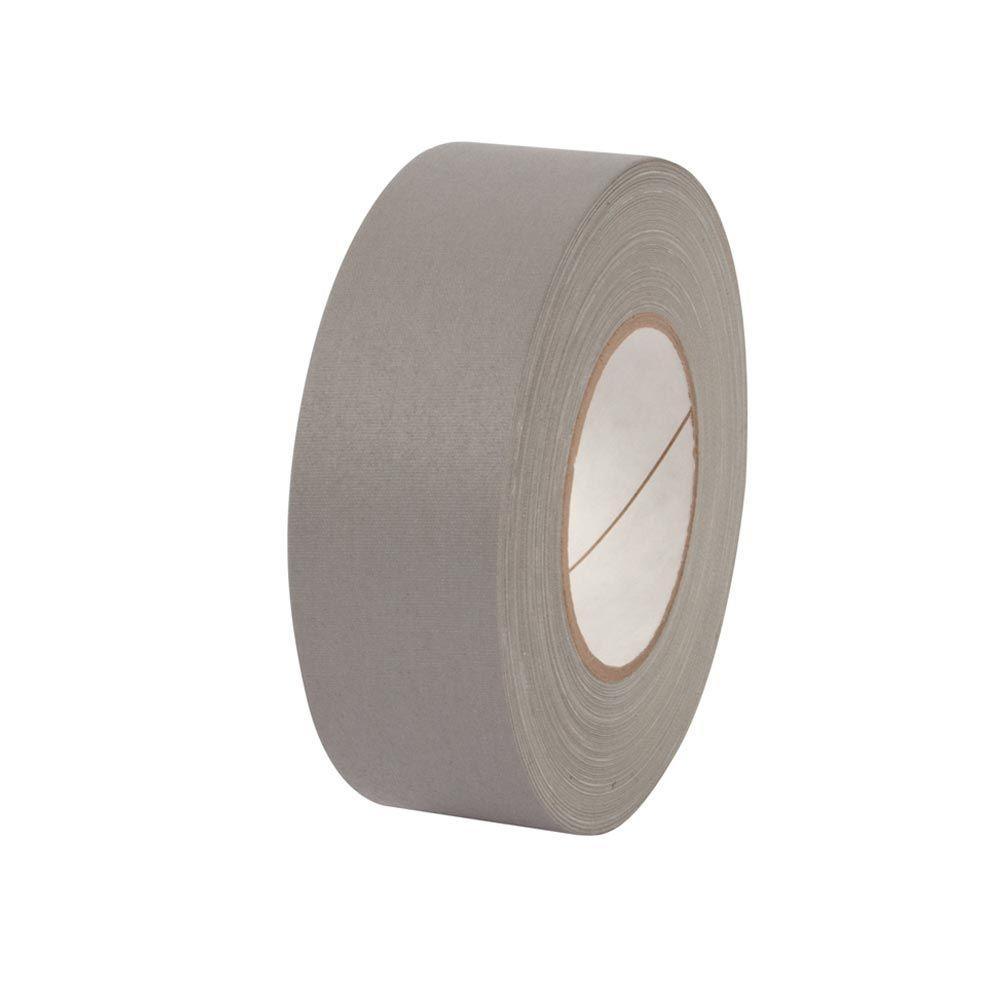 2 in. x 55 yds. Grey Gaffer Industrial Vinyl Cloth Tape (3-Pack)