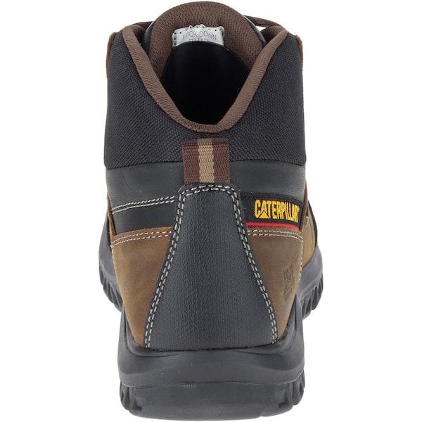 Black Dark Shadow Caterpillar Footwear Mens Payload WaterProof TX CT CSA Construction Boot 8.5 W US