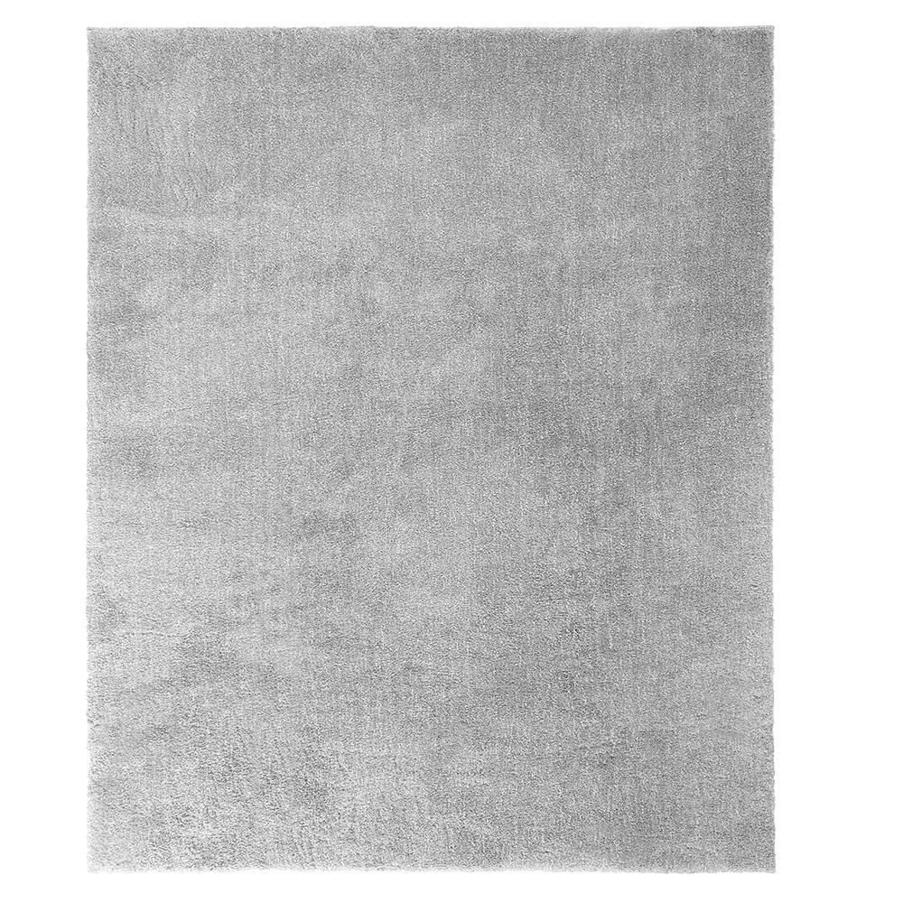 Home Decorators Collection Ethereal Shag Gray 10 Ft X 13 Ft Indoor Area Rug 509842 The Home Depot