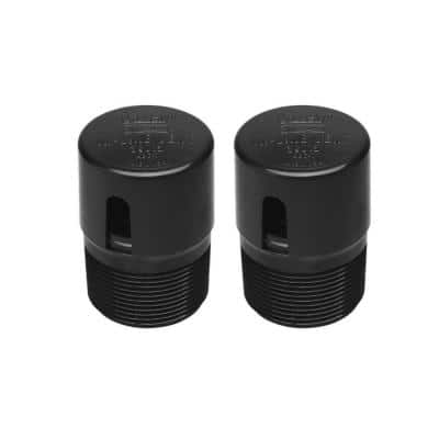1-1/2 in. ABS In-Line Cheater Air Admittance Vent (2-Pack)