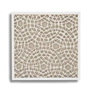 Zentique Abstract Square Paper Framed Wall Art By Zentique Zen22076b The Home Depot