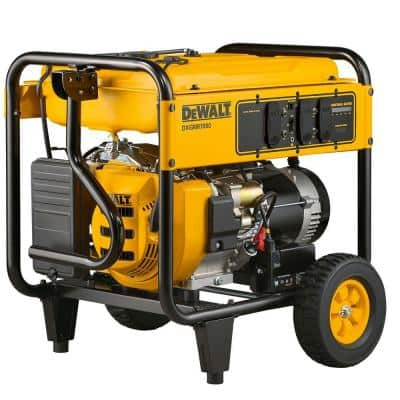 7,000-Watt Gasoline Powered Electric Start Portable Generator