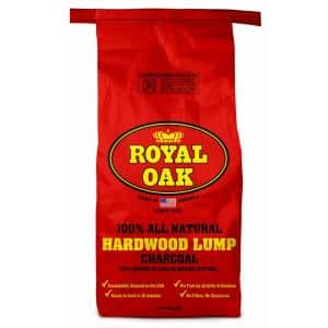 15.44 lb. 100% All Natural Hardwood Lump Charcoal