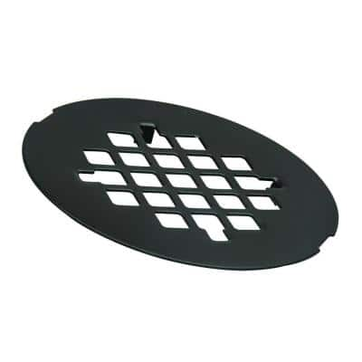 4-1/4 in. O.D. Shower Strainer in Oil Rubbed Bronze