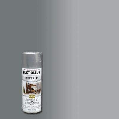 11 oz. Metallic Silver Protective Spray Paint