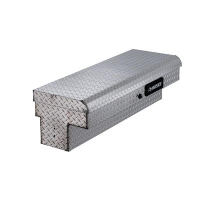 46.8 in. x 15.7 in. x 13.3 in. Aluminum Low Side Truck Box