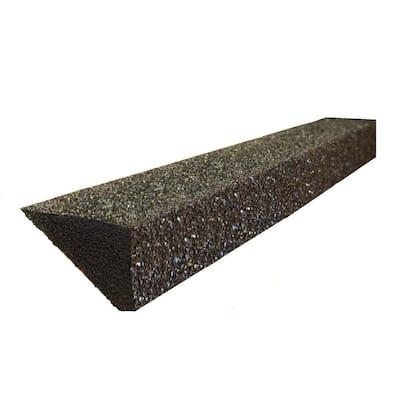 EZ 4 ft. Foam Filter Plastic Gutter Guard for 5 in. K-Style (8-Pack)