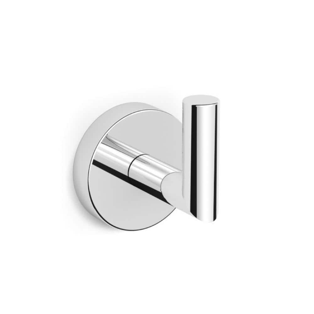 Nameeks Luxury Hotel Wall Mounted Bathroom Hook In Chrome Nnbl0027 The Home Depot