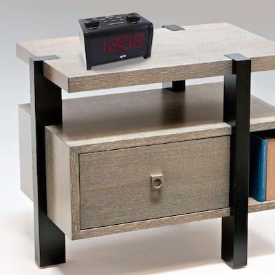 Bluetooth Speaker Clock Radio with Hands-Free Calling