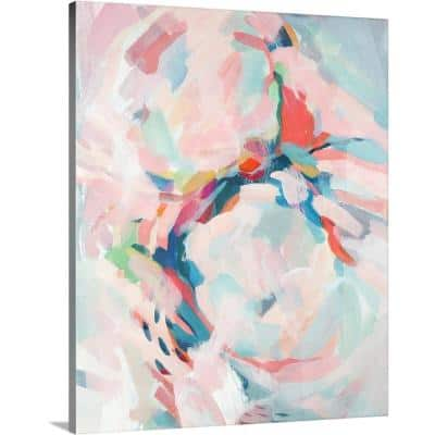 """""""Cotton Candy ll"""" by Circle Art Group Canvas Wall Art"""