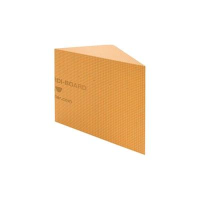Kerdi-Board-SB 16 in. x 16 in. Triangular Shower Bench