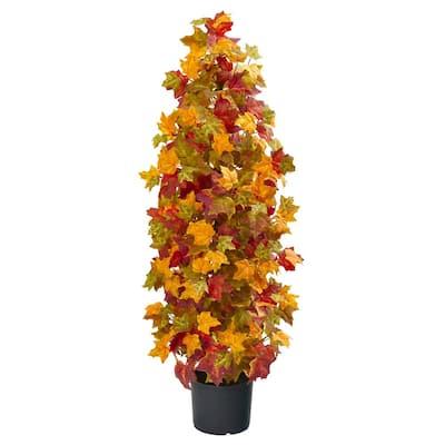 39 in. Autumn Maple Artificial Tree