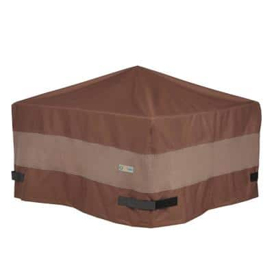 Ultimate 44 in. L x 44 in. D x 24 in. H Square Fire Pit Cover