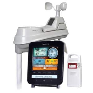 5-in-1 Weather Station with Lightning Detection