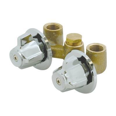 1/2 in. IPS Inlet Shower Stall Valves