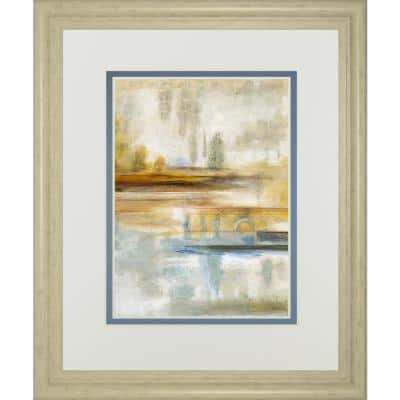 """""""Earthscape Il"""" By Augustine Framed Print Abstract Wall Art 34 in. x 40 in."""