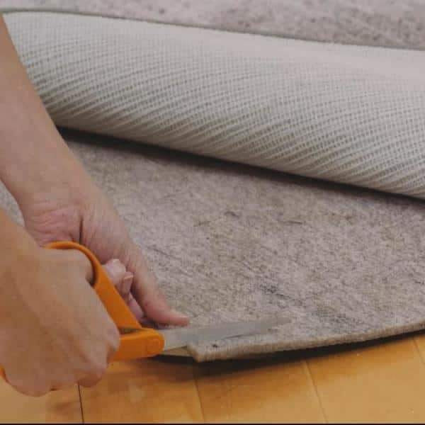 5 Ft Round Dual Surface Rug Pad