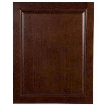 Benton 30.5x24 in. Decorative Base End Panel in Amber