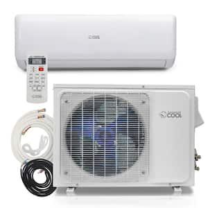 12,000 BTU 1 Ton Ductless Mini Split Air Conditioner with Heat Pump 17 SEER, 115-Volt/60 Hz