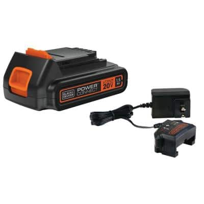 20-Volt Max Lithium Ion Battery and Charger