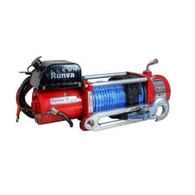 11,000 lbs. Capacity 12-Volt Wireless Off-Road Electric Winch with 85 ft. Synthetic Rope