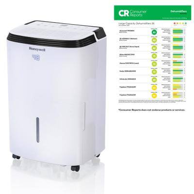 ENERGY STAR 50-Pint Dehumidifier with Filter Change Alert
