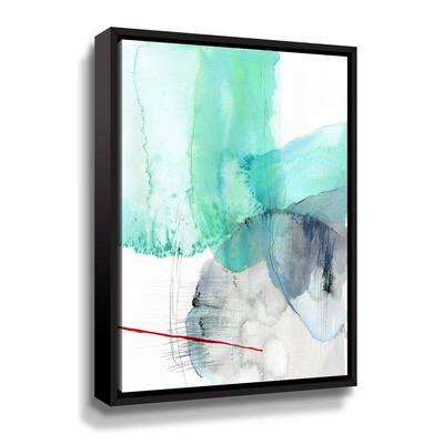 'Beach study I' by  Elisa Sheehan Framed Canvas Wall Art