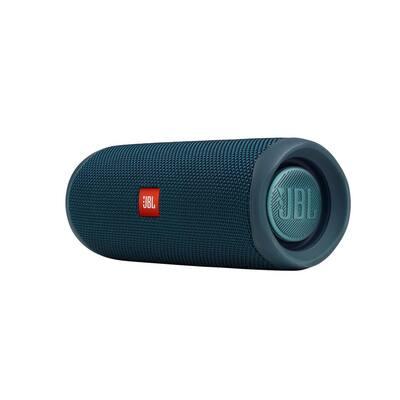 Blue JBL Flip5 Portable Waterproof Speaker