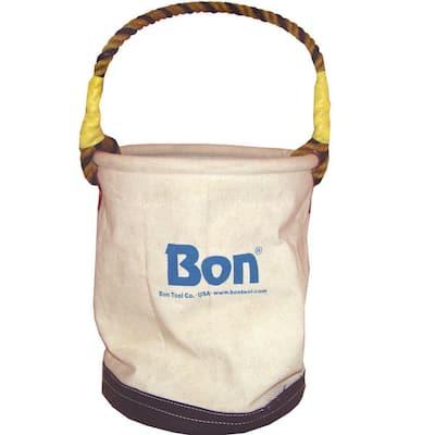 16 in. Canvas Bucket Tool Bag