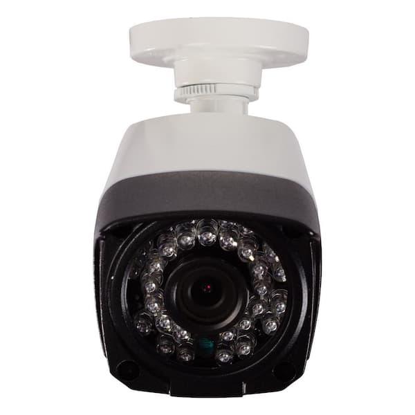 Revo Aero Wired Hd 1080p Indoor Or Outdoor Bullet Standard Surveillance Camera Racbs30 1 The Home Depot