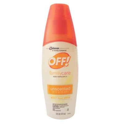 6 oz. Family-Care Unscented Insect Repellent Spritz