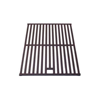17.17 in. x 11.18 in.  Cast Iron Cooking Grid with Hole
