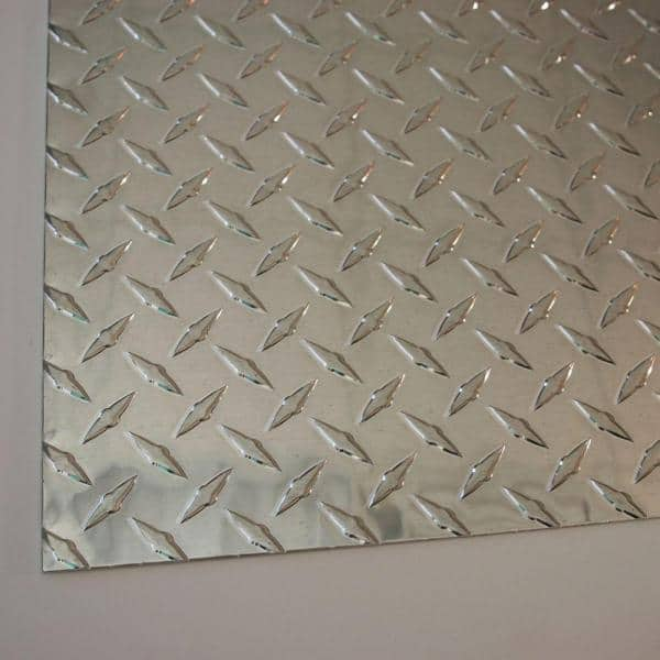 prints 4 diamonds silver painted metal 21 x 12 mm