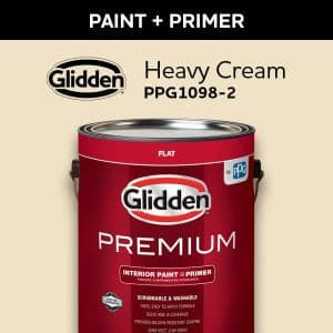 Glidden Professional 5 Gal Antique White Semigloss Interior Latex Paint Gps 5020 05 The Home Depot