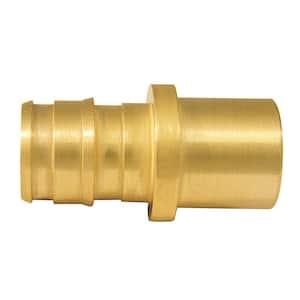1/2 in. Brass PEX-A Barb x 1/2 in. Male Sweat Adapter